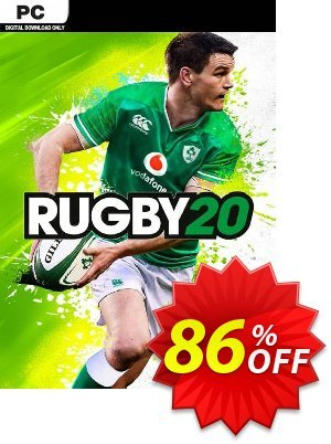 Rugby 20 PC 프로모션 코드 Rugby 20 PC Deal 프로모션: Rugby 20 PC Exclusive Easter Sale offer for iVoicesoft