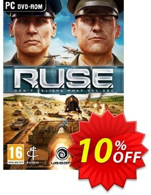 R.U.S.E (PC) 프로모션 코드 R.U.S.E (PC) Deal 프로모션: R.U.S.E (PC) Exclusive Easter Sale offer for iVoicesoft