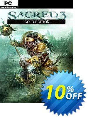 Sacred 3 Gold PC discount coupon Sacred 3 Gold PC Deal - Sacred 3 Gold PC Exclusive Easter Sale offer for iVoicesoft