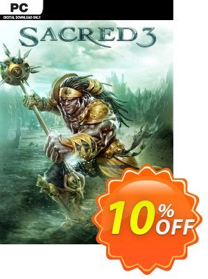 Sacred 3 PC discount coupon Sacred 3 PC Deal - Sacred 3 PC Exclusive Easter Sale offer for iVoicesoft
