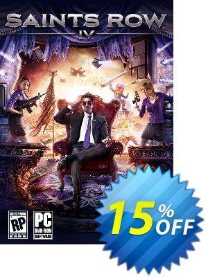 Saints Row IV 4 PC Coupon discount Saints Row IV 4 PC Deal. Promotion: Saints Row IV 4 PC Exclusive Easter Sale offer for iVoicesoft