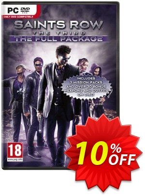 Saints Row The Third: The Full Package PC Coupon discount Saints Row The Third: The Full Package PC Deal. Promotion: Saints Row The Third: The Full Package PC Exclusive Easter Sale offer for iVoicesoft