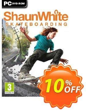 Shaun White Skateboarding (PC) 優惠券,折扣碼 Shaun White Skateboarding (PC) Deal,促銷代碼: Shaun White Skateboarding (PC) Exclusive Easter Sale offer for iVoicesoft