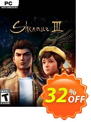 Shenmue III 3 PC (EU) 프로모션 코드 Shenmue III 3 PC (EU) Deal 프로모션: Shenmue III 3 PC (EU) Exclusive Easter Sale offer for iVoicesoft