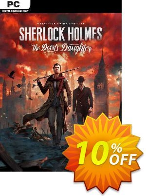 Sherlock Holmes - The Devils Daughter PC Coupon discount Sherlock Holmes - The Devils Daughter PC Deal. Promotion: Sherlock Holmes - The Devils Daughter PC Exclusive Easter Sale offer for iVoicesoft