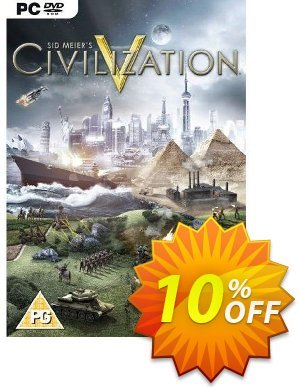 Sid Meier's Civilization V 5 (PC) Coupon discount Sid Meier's Civilization V 5 (PC) Deal. Promotion: Sid Meier's Civilization V 5 (PC) Exclusive Easter Sale offer for iVoicesoft