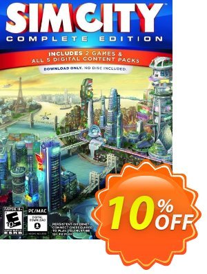 SimCity Complete Edition PC 프로모션 코드 SimCity Complete Edition PC Deal 프로모션: SimCity Complete Edition PC Exclusive Easter Sale offer for iVoicesoft