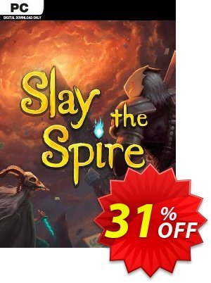 Slay The Spire PC 프로모션 코드 Slay The Spire PC Deal 프로모션: Slay The Spire PC Exclusive Easter Sale offer for iVoicesoft
