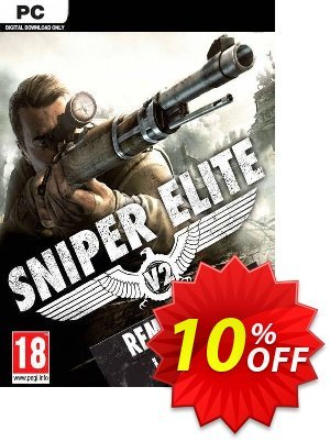 Sniper Elite V2 Remastered Upgrade PC discount coupon Sniper Elite V2 Remastered Upgrade PC Deal - Sniper Elite V2 Remastered Upgrade PC Exclusive Easter Sale offer for iVoicesoft