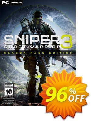 Sniper Ghost Warrior 3 Season Pass Edition PC discount coupon Sniper Ghost Warrior 3 Season Pass Edition PC Deal - Sniper Ghost Warrior 3 Season Pass Edition PC Exclusive Easter Sale offer for iVoicesoft