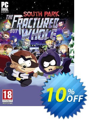 South Park The Fractured but Whole PC (US) 프로모션 코드 South Park The Fractured but Whole PC (US) Deal 프로모션: South Park The Fractured but Whole PC (US) Exclusive Easter Sale offer for iVoicesoft