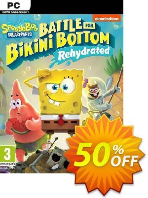 SpongeBob SquarePants: Battle for Bikini Bottom - Rehydrated PC Coupon discount SpongeBob SquarePants: Battle for Bikini Bottom - Rehydrated PC Deal. Promotion: SpongeBob SquarePants: Battle for Bikini Bottom - Rehydrated PC Exclusive Easter Sale offer for iVoicesoft