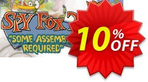 "Spy Fox 2 ""Some Assembly Required"" PC discount coupon Spy Fox 2 ""Some Assembly Required"" PC Deal - Spy Fox 2 ""Some Assembly Required"" PC Exclusive Easter Sale offer for iVoicesoft"