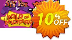 Spy Fox In Hold the Mustard PC discount coupon Spy Fox In Hold the Mustard PC Deal - Spy Fox In Hold the Mustard PC Exclusive Easter Sale offer for iVoicesoft