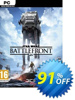 Star Wars: Battlefront PC (EN) discount coupon Star Wars: Battlefront PC (EN) Deal - Star Wars: Battlefront PC (EN) Exclusive Easter Sale offer for iVoicesoft