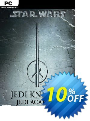 STAR WARS Jedi Knight Jedi Academy PC discount coupon STAR WARS Jedi Knight Jedi Academy PC Deal - STAR WARS Jedi Knight Jedi Academy PC Exclusive Easter Sale offer for iVoicesoft