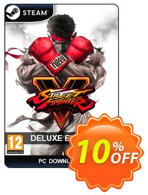 Street Fighter 5 Deluxe Edition PC discount coupon Street Fighter 5 Deluxe Edition PC Deal - Street Fighter 5 Deluxe Edition PC Exclusive Easter Sale offer for iVoicesoft