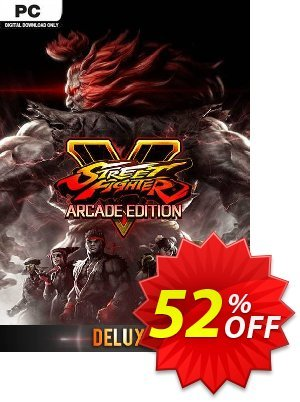 Street Fighter V 5: Arcade Edition Deluxe PC discount coupon Street Fighter V 5: Arcade Edition Deluxe PC Deal - Street Fighter V 5: Arcade Edition Deluxe PC Exclusive Easter Sale offer for iVoicesoft