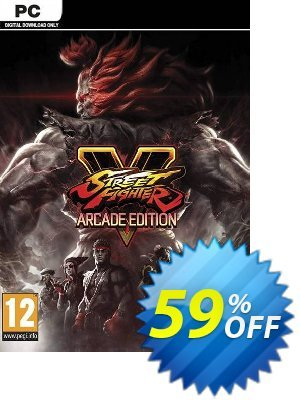 Street Fighter V 5: Arcade Edition PC 프로모션 코드 Street Fighter V 5: Arcade Edition PC Deal 프로모션: Street Fighter V 5: Arcade Edition PC Exclusive Easter Sale offer for iVoicesoft