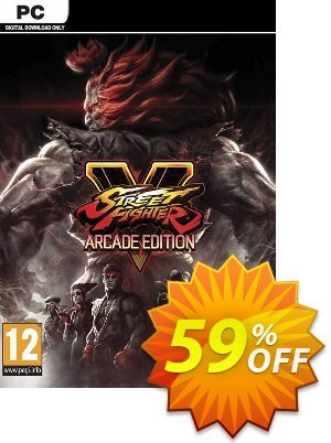 Street Fighter V 5: Arcade Edition PC discount coupon Street Fighter V 5: Arcade Edition PC Deal - Street Fighter V 5: Arcade Edition PC Exclusive Easter Sale offer for iVoicesoft