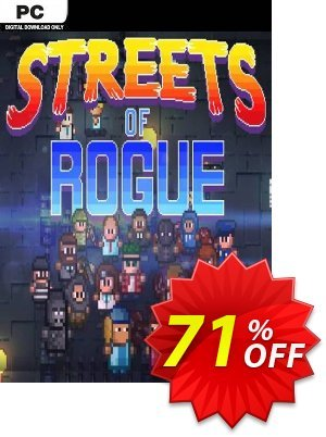 Streets of Rogue PC discount coupon Streets of Rogue PC Deal - Streets of Rogue PC Exclusive Easter Sale offer for iVoicesoft