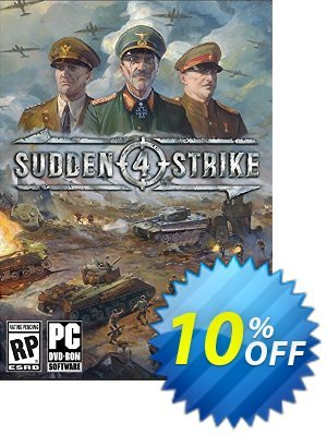 Sudden Strike 4 PC Coupon discount Sudden Strike 4 PC Deal. Promotion: Sudden Strike 4 PC Exclusive Easter Sale offer for iVoicesoft