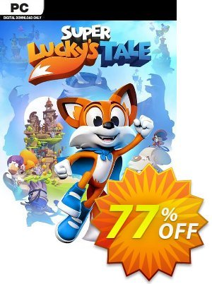 Super Lucky's Tale PC 프로모션 코드 Super Lucky's Tale PC Deal 프로모션: Super Lucky's Tale PC Exclusive Easter Sale offer for iVoicesoft