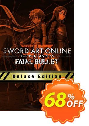 Sword Art Online Fatal Bullet Deluxe Edition PC discount coupon Sword Art Online Fatal Bullet Deluxe Edition PC Deal - Sword Art Online Fatal Bullet Deluxe Edition PC Exclusive Easter Sale offer for iVoicesoft