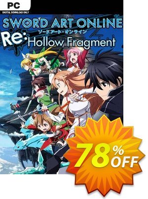 Sword Art Online Re: Hollow Fragment PC discount coupon Sword Art Online Re: Hollow Fragment PC Deal - Sword Art Online Re: Hollow Fragment PC Exclusive Easter Sale offer for iVoicesoft