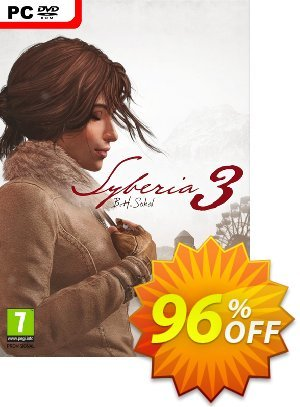 Syberia 3 PC Coupon discount Syberia 3 PC Deal. Promotion: Syberia 3 PC Exclusive Easter Sale offer for iVoicesoft