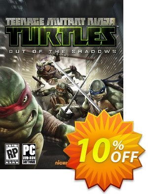 Teenage Mutant Ninja Turtles: Out of the Shadows PC discount coupon Teenage Mutant Ninja Turtles: Out of the Shadows PC Deal - Teenage Mutant Ninja Turtles: Out of the Shadows PC Exclusive Easter Sale offer for iVoicesoft