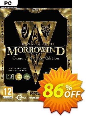 The Elder Scrolls III Morrowind Game of the Year Edition PC discount coupon The Elder Scrolls III Morrowind Game of the Year Edition PC Deal - The Elder Scrolls III Morrowind Game of the Year Edition PC Exclusive Easter Sale offer for iVoicesoft