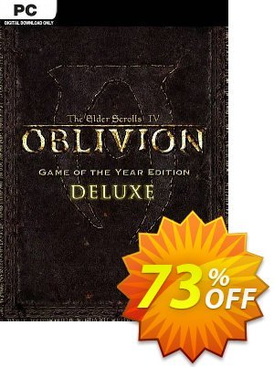 The Elder Scrolls IV 4 Oblivion® Game of the Year Edition Deluxe PC discount coupon The Elder Scrolls IV 4 Oblivion® Game of the Year Edition Deluxe PC Deal - The Elder Scrolls IV 4 Oblivion® Game of the Year Edition Deluxe PC Exclusive Easter Sale offer for iVoicesoft