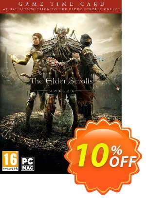 The Elder Scrolls Online - 60 Day Game Time Card PC discount coupon The Elder Scrolls Online - 60 Day Game Time Card PC Deal - The Elder Scrolls Online - 60 Day Game Time Card PC Exclusive Easter Sale offer for iVoicesoft