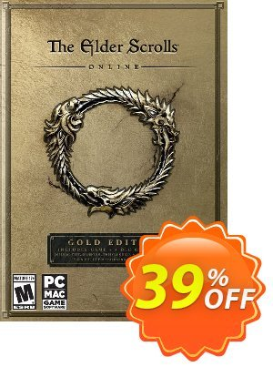 The Elder Scrolls Online Gold Edition PC discount coupon The Elder Scrolls Online Gold Edition PC Deal - The Elder Scrolls Online Gold Edition PC Exclusive Easter Sale offer for iVoicesoft