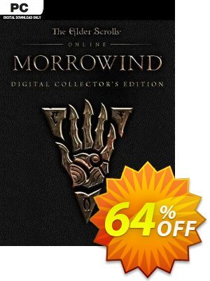 The Elder Scrolls Online - Morrowind Collectors Edition PC discount coupon The Elder Scrolls Online - Morrowind Collectors Edition PC Deal - The Elder Scrolls Online - Morrowind Collectors Edition PC Exclusive Easter Sale offer for iVoicesoft