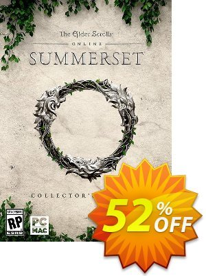 The Elder Scrolls Online Summerset Collectors Edition PC discount coupon The Elder Scrolls Online Summerset Collectors Edition PC Deal - The Elder Scrolls Online Summerset Collectors Edition PC Exclusive Easter Sale offer for iVoicesoft