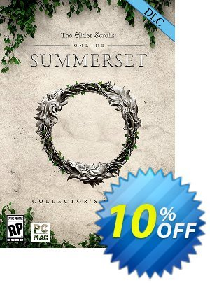 The Elder Scrolls Online Summerset Collectors Edition Upgrade PC discount coupon The Elder Scrolls Online Summerset Collectors Edition Upgrade PC Deal - The Elder Scrolls Online Summerset Collectors Edition Upgrade PC Exclusive Easter Sale offer for iVoicesoft