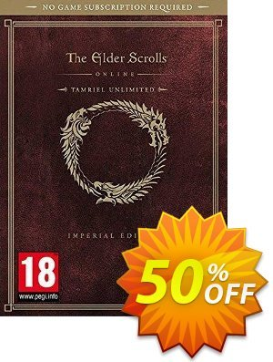 The Elder Scrolls Online Tamriel Unlimited Imperial Edition PC discount coupon The Elder Scrolls Online Tamriel Unlimited Imperial Edition PC Deal - The Elder Scrolls Online Tamriel Unlimited Imperial Edition PC Exclusive Easter Sale offer for iVoicesoft