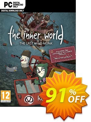The Inner World - The Last Wind Monk PC Coupon discount The Inner World - The Last Wind Monk PC Deal. Promotion: The Inner World - The Last Wind Monk PC Exclusive Easter Sale offer for iVoicesoft