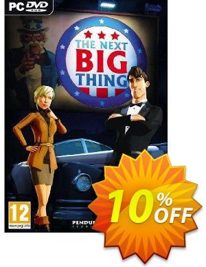 The Next Big Thing (PC) Coupon discount The Next Big Thing (PC) Deal. Promotion: The Next Big Thing (PC) Exclusive Easter Sale offer for iVoicesoft