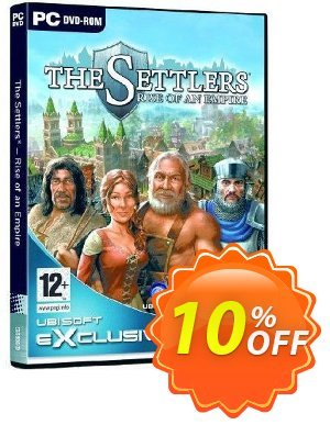 The Settlers - Rise of an Empire (PC) Coupon discount The Settlers - Rise of an Empire (PC) Deal. Promotion: The Settlers - Rise of an Empire (PC) Exclusive Easter Sale offer for iVoicesoft