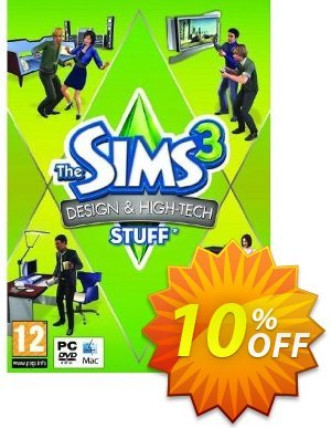 The Sims 3: Design and Hi-Tech Stuff (PC/Mac) discount coupon The Sims 3: Design and Hi-Tech Stuff (PC/Mac) Deal - The Sims 3: Design and Hi-Tech Stuff (PC/Mac) Exclusive Easter Sale offer for iVoicesoft