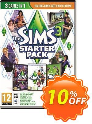 The Sims 3: Starter Bundle PC Coupon discount The Sims 3: Starter Bundle PC Deal. Promotion: The Sims 3: Starter Bundle PC Exclusive Easter Sale offer for iVoicesoft