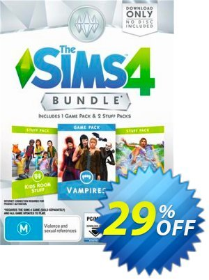 The Sims 4 - Bundle Pack 4 PC Coupon discount The Sims 4 - Bundle Pack 4 PC Deal. Promotion: The Sims 4 - Bundle Pack 4 PC Exclusive Easter Sale offer for iVoicesoft