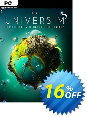 The Universim PC Coupon discount The Universim PC Deal. Promotion: The Universim PC Exclusive Easter Sale offer for iVoicesoft