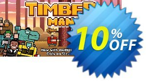 Timberman PC 프로모션 코드 Timberman PC Deal 프로모션: Timberman PC Exclusive Easter Sale offer for iVoicesoft