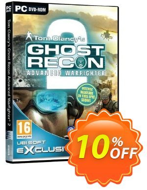 Tom Clancy's Ghost Recon Advanced Warfighter 2 (PC) discount coupon Tom Clancy's Ghost Recon Advanced Warfighter 2 (PC) Deal - Tom Clancy's Ghost Recon Advanced Warfighter 2 (PC) Exclusive Easter Sale offer for iVoicesoft