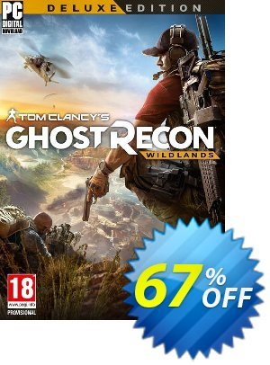Tom Clancy's Ghost Recon Wildlands Deluxe Edition PC discount coupon Tom Clancy's Ghost Recon Wildlands Deluxe Edition PC Deal - Tom Clancy's Ghost Recon Wildlands Deluxe Edition PC Exclusive Easter Sale offer for iVoicesoft