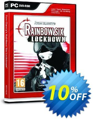 Tom Clancy's Rainbow Six: Lockdown (PC) discount coupon Tom Clancy's Rainbow Six: Lockdown (PC) Deal - Tom Clancy's Rainbow Six: Lockdown (PC) Exclusive Easter Sale offer for iVoicesoft